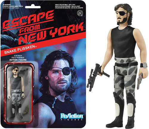 Funko Escape From New York ReAction Snake Plissken Action Figure [No Jacket]
