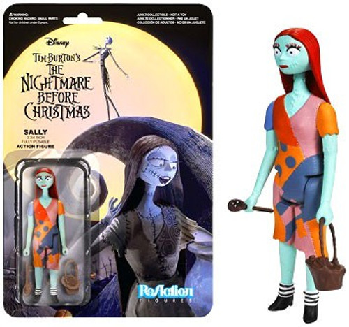 Funko Nightmare Before Christmas ReAction Sally Action Figure