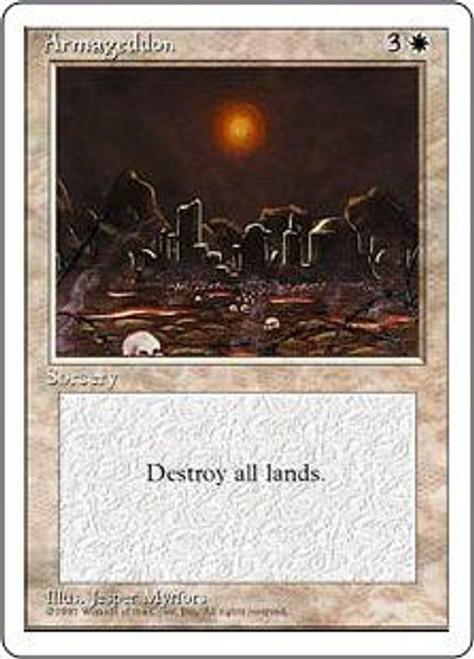 MtG 4th Edition Rare Armageddon