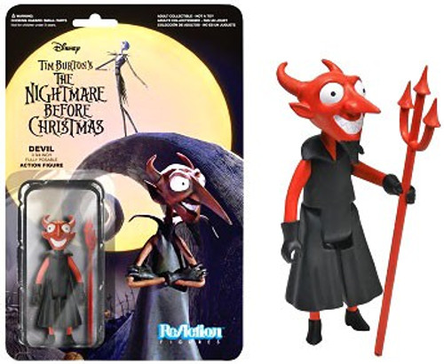 Funko Nightmare Before Christmas ReAction The Devil Action Figure