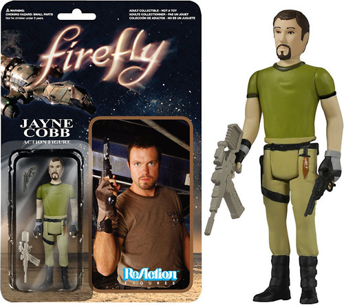 Funko Firefly ReAction Jayne Cobb Action Figure