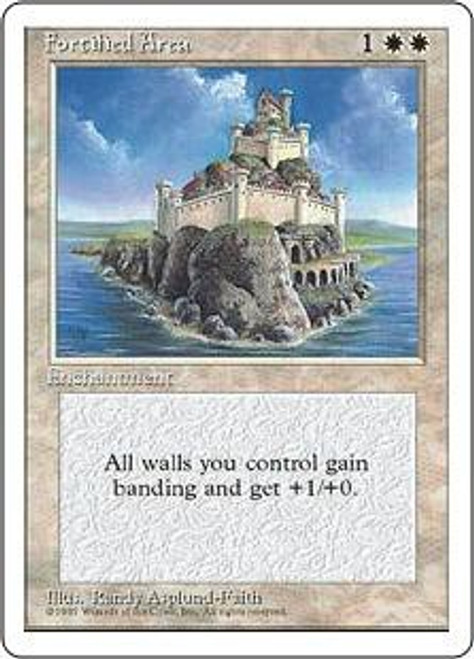 MtG 4th Edition Common Fortified Area