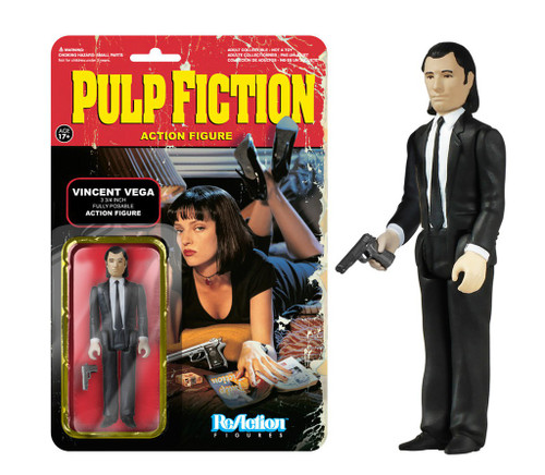Funko Pulp Fiction ReAction Vincent Vega Action Figure
