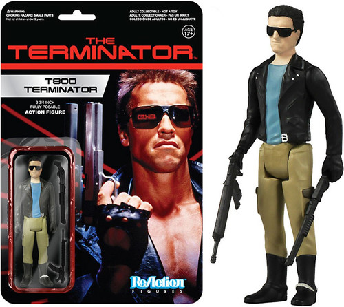Funko ReAction T800 Terminator Action Figure
