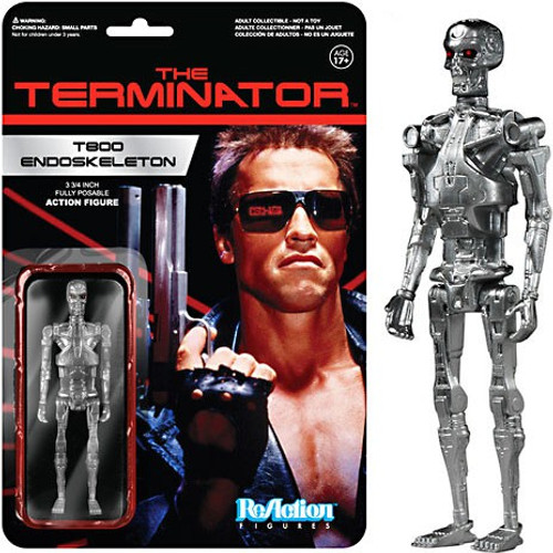 Funko Terminator ReAction T800 Endoskeleton Action Figure