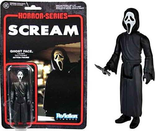 Funko Scream ReAction Ghost Face Action Figure