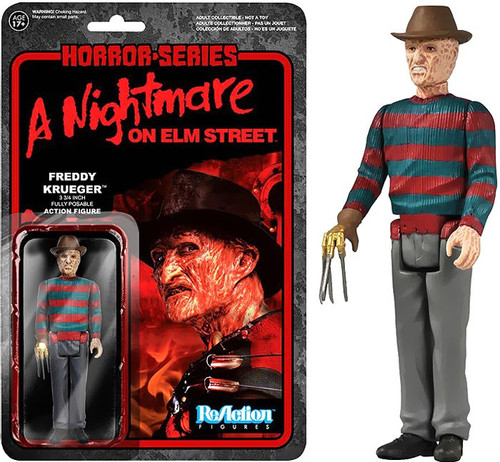 Funko Nightmare on Elm Street ReAction Freddy Krueger Action Figure