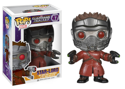Funko Guardians of the Galaxy POP! Marvel Star Lord Vinyl Bobble Head #47