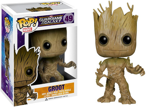 Funko Guardians of the Galaxy POP! Marvel Groot Vinyl Bobble Head #49