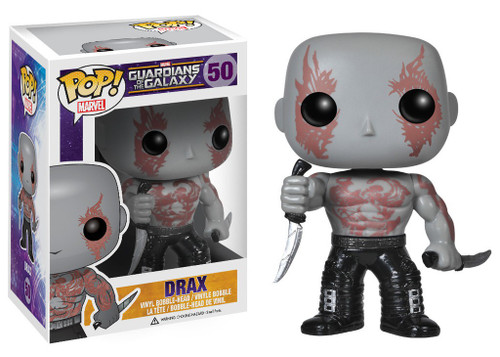 Funko Guardians of the Galaxy POP! Marvel Drax Vinyl Bobble Head #50