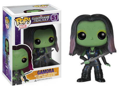 Funko Guardians of the Galaxy POP! Marvel Gamora Vinyl Bobble Head #51