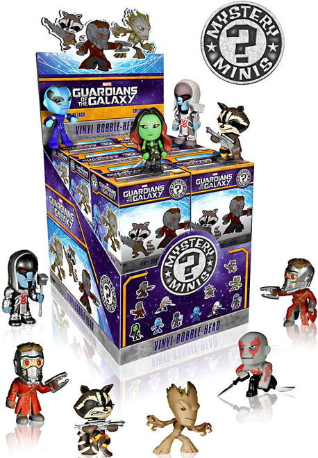Funko Marvel Mystery Minis Guardians of the Galaxy Mystery Box [12 Packs]
