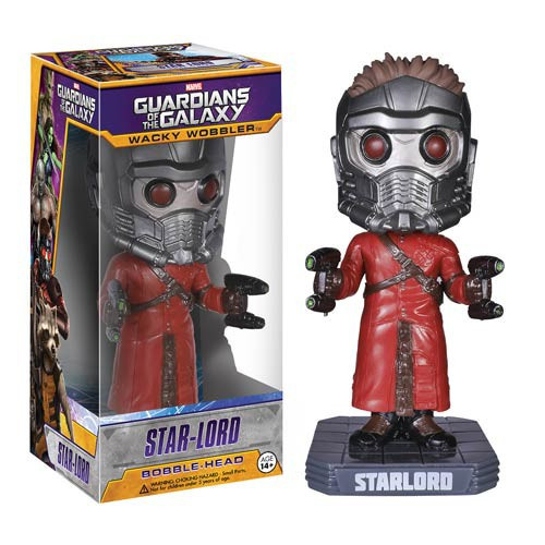 Funko Marvel Guardians of the Galaxy Wacky Wobbler Star-Lord Bobble Head