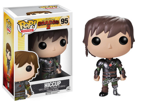 Funko How to Train Your Dragon 2 POP! Movies Hiccup Vinyl Figure #95