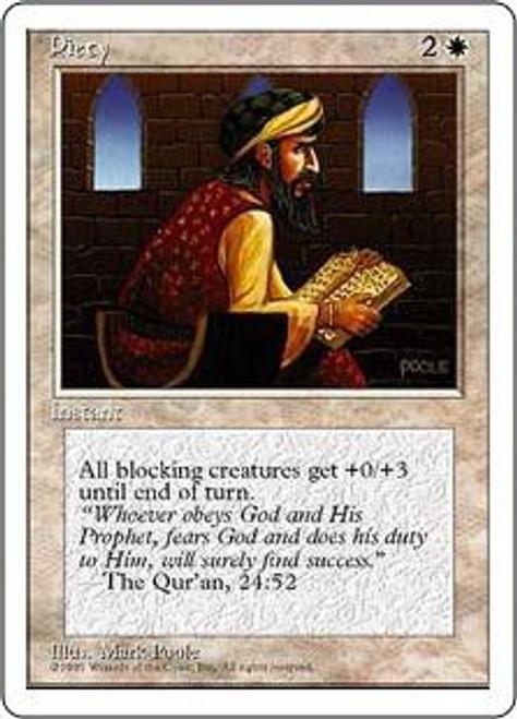 MtG 4th Edition Common Piety