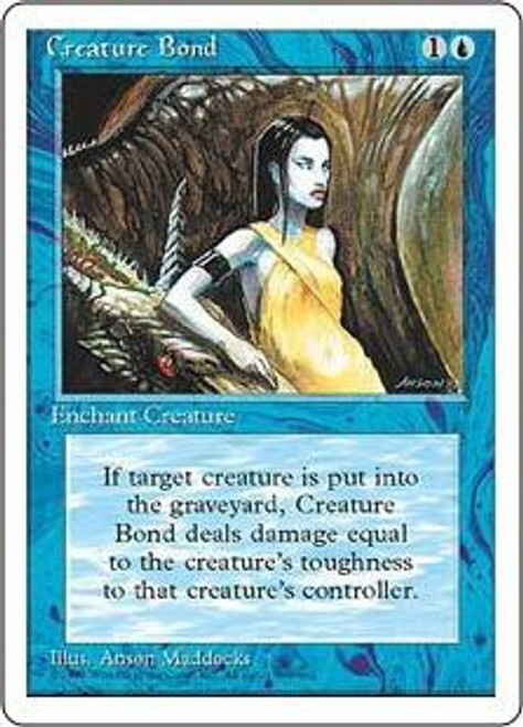 MtG 4th Edition Common Creature Bond