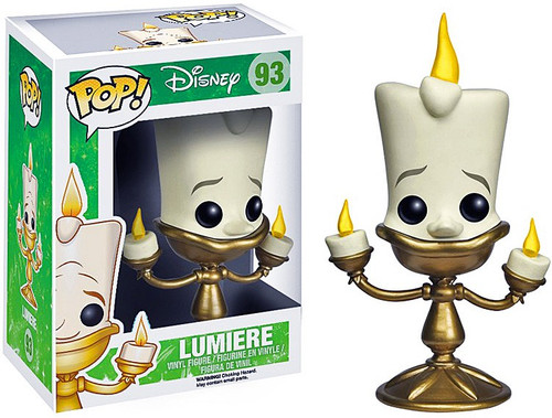 Funko Beauty and the Beast POP! Disney Lumiere Vinyl Figure #93 [Animated Version]
