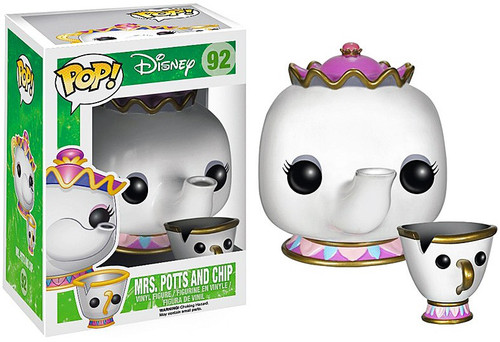 Funko Beauty and the Beast POP! Disney Mrs. Potts & Chip Vinyl Figure 2-Pack #92