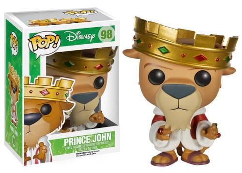 Funko Robin Hood POP! Disney Prince John Vinyl Figure #98