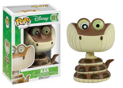 Funko The Jungle Book POP! Disney Kaa Vinyl Figure #101