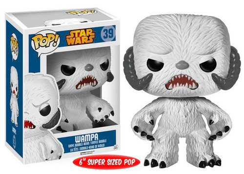 Funko POP! Star Wars Wampa 6-Inch Vinyl Bobble Head #39 [Super-Sized]