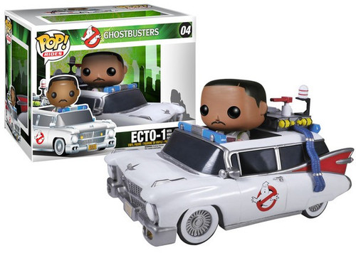 Funko Ghostbusters POP! Movies Ecto-1 with Winston Zeddmore Vinyl Figure #04