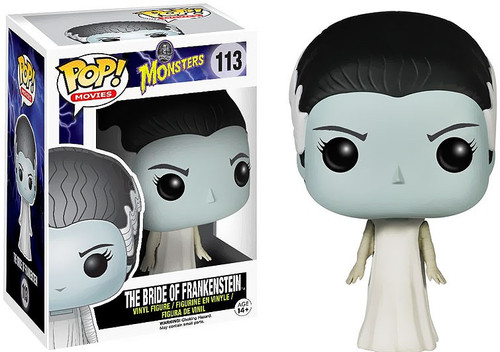Funko Universal Monsters POP! Movies The Bride of Frankenstein Vinyl Figure #113