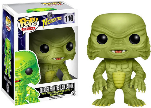 Funko Universal Monsters POP! Movies Creature From the Black Lagoon Vinyl Figure #116