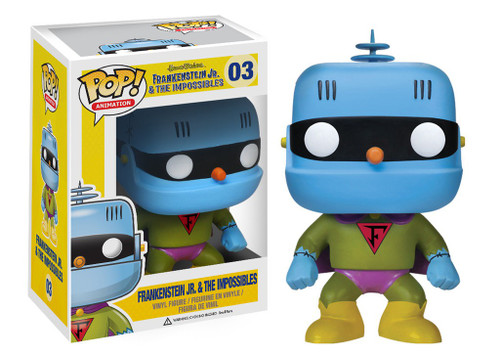 Funko Hanna-Barbera Frankenstein Jr. & The Impossibles POP! Movies Frankenstein Jr. Vinyl Figure #03