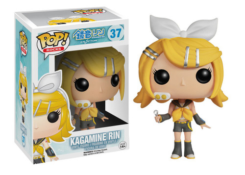 Funko Vocaloid POP! Rocks Kagamine Rin Vinyl Figure #37