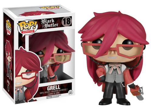 Funko Black Butler POP! Animation Grell Vinyl Figure #18