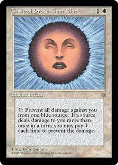 MtG Ice Age Common Circle of Protection: Blue