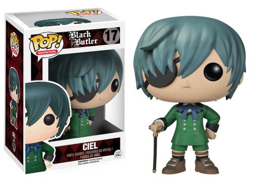 Funko Black Butler POP! Animation Ciel Vinyl Figure #17