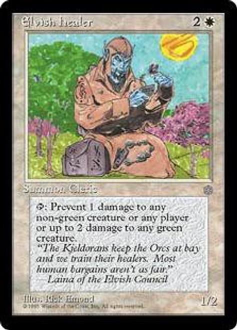 MtG Ice Age Common Elvish Healer