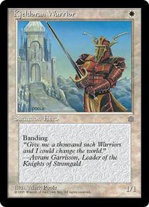 MtG Ice Age Common Kjeldoran Warrior