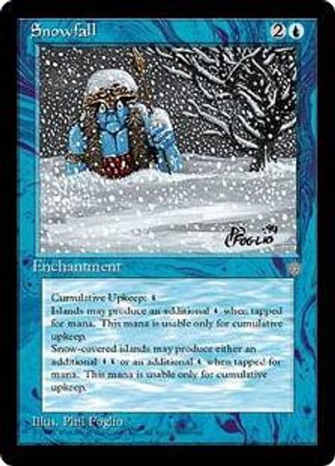 MtG Ice Age Common Snowfall