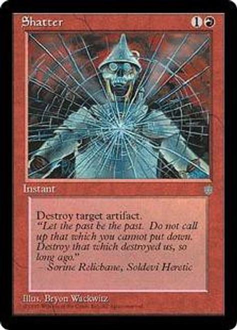 MtG Ice Age Common Shatter