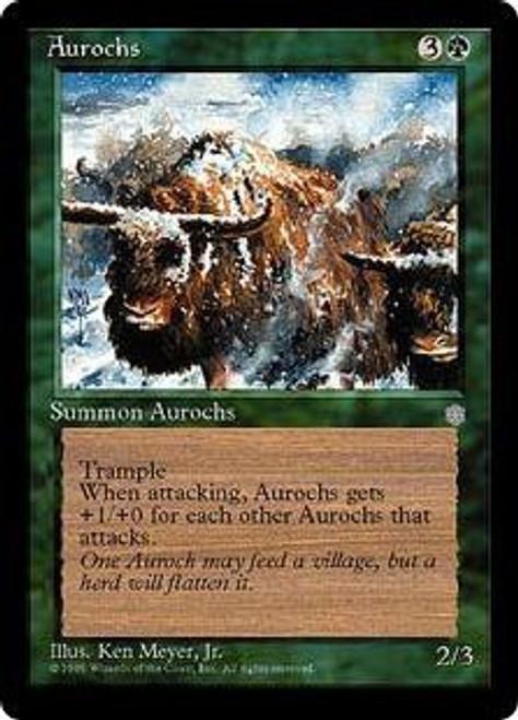 MtG Ice Age Common Aurochs