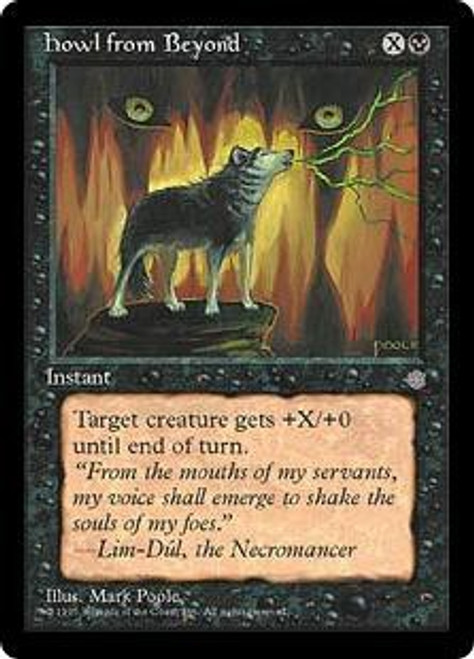 MtG Ice Age Common Howl from Beyond