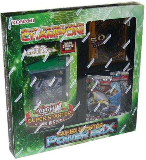 YuGiOh Trading Card Game Super Starter Power Box