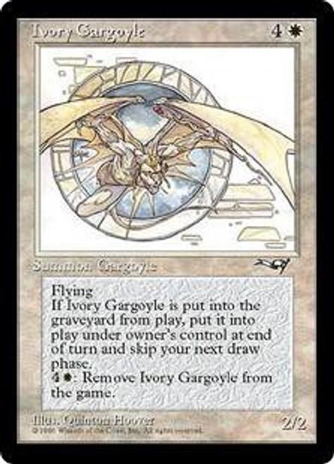 MtG Alliances Rare Ivory Gargoyle