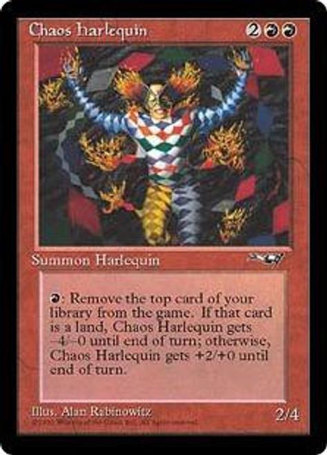 MtG Alliances Rare Chaos Harlequin