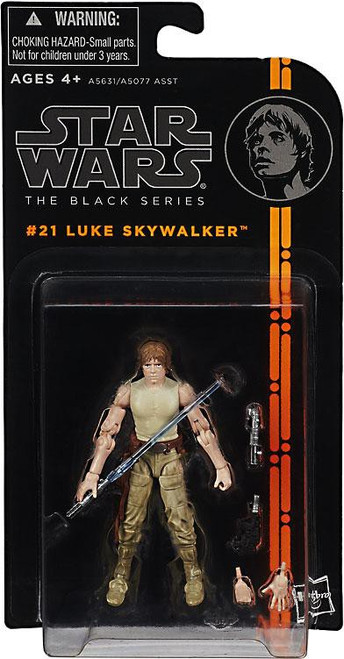 Star Wars The Empire Strikes Back Black Series Wave 4 Luke Skywalker Action Figure #21