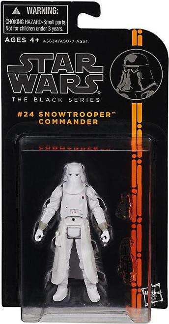 Star Wars The Empire Strikes Back Black Series Wave 4 Snowtrooper Commander Action Figure #24