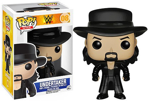 Funko WWE Wrestling POP! Sports Undertaker Vinyl Figure #08