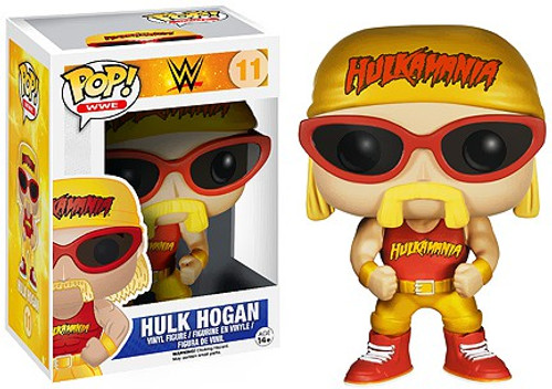 Funko WWE Wrestling POP! Sports Hulk Hogan Vinyl Figure #11