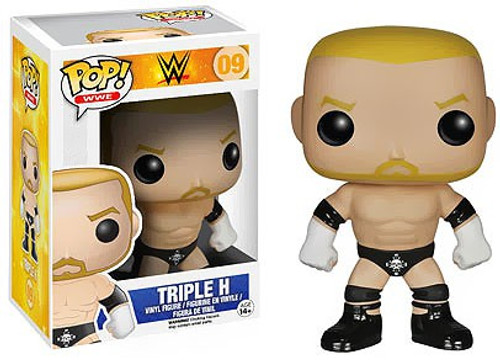 Funko WWE Wrestling POP! Sports Triple H Vinyl Figure #09