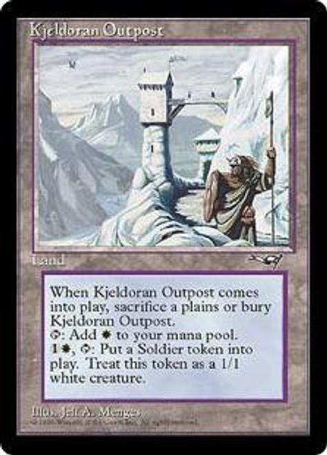 MtG Alliances Rare Kjeldoran Outpost