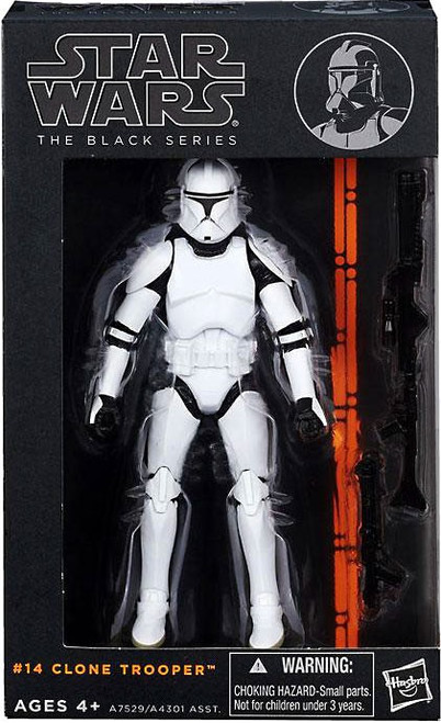 Star Wars A New Hope Black Series Wave 3 Clone Trooper Action Figure #14