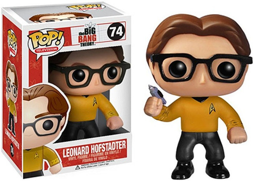 Funko The Big Bang Theory POP! TV Leonard Hofstadter Vinyl Figure #74 [Star Trek]
